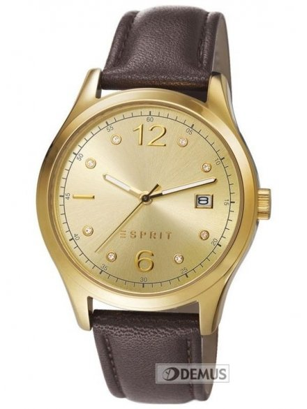 Zegarek Esprit Tracy Gold Brown ES106692010