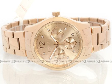 Zegarek Esprit Tracy Multi Rose Gold ES106702003